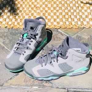 Jordan 6 Retro Green Glows